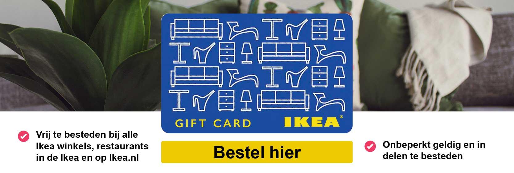 IKEA NL CADEAUKAART