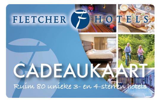 Fletcher Hotels Cadeaukaart Cadeaukaarten Cadeaubonnen
