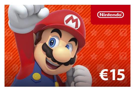 Nintendo Cadeaukaart eShop Card 15 euro - Cadeaukaarten , Cadeaubonnen &  Giftcards | Gratis inpakservice (TIP)
